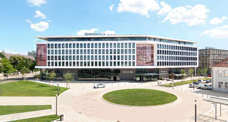 General view V8 Hotel Motorworld Region Stuttgart
