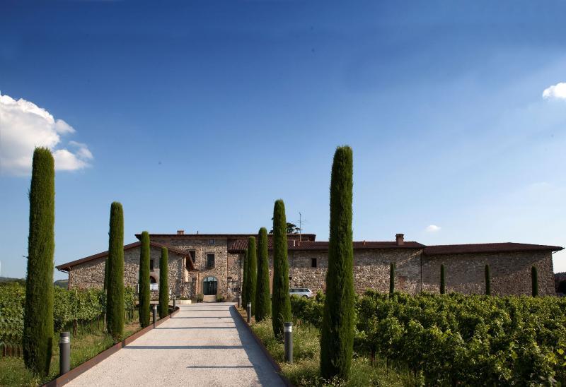 General view Podere Castel Merlo Relais