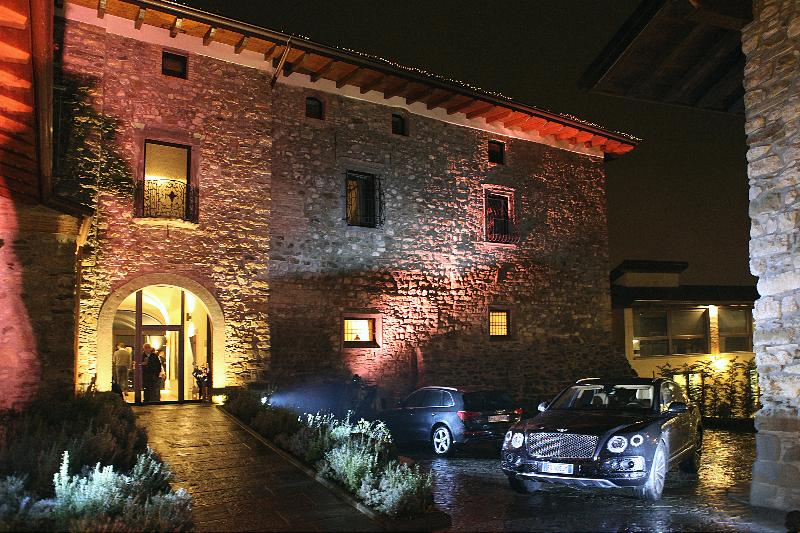 Lobby Podere Castel Merlo Relais