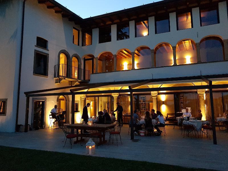 Terrace Podere Castel Merlo Relais