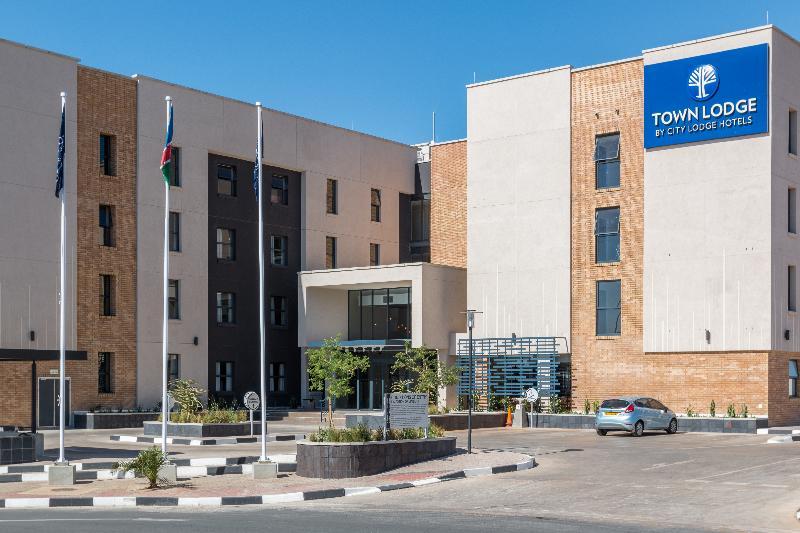 General view Town Lodge Windhoek
