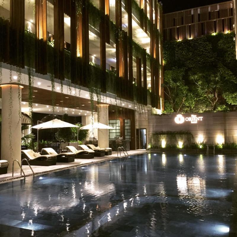 Terrace New Orient Hotel