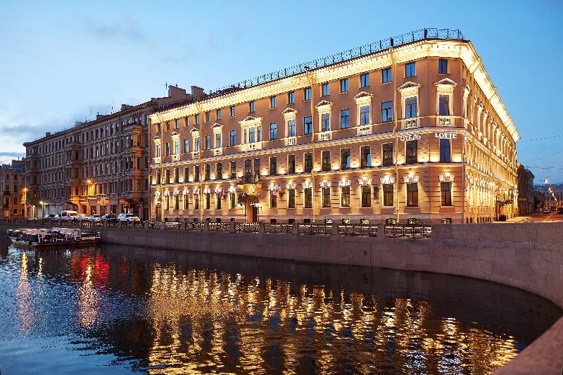 General view Lotte Hotel St. Petersburg