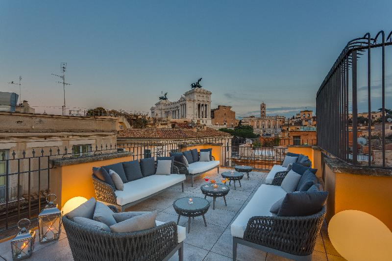 Terrace Otivm Hotel