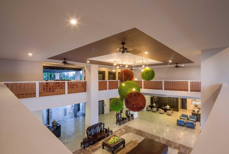 Lobby Grandvrio Ocean Resort Danang