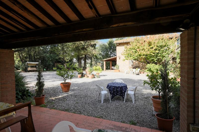 Terrace Agriturismo Villa Graziella