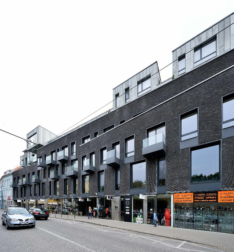 General view Ambiente Serviced Apartments - Dunajska