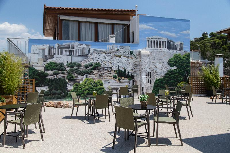 Terrace Be My Guest Athens