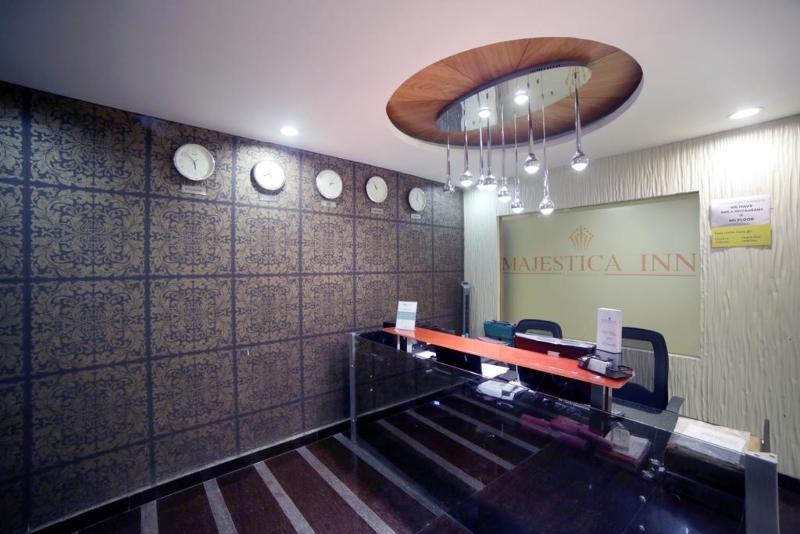Lobby Fabhotel Majestica Inn Hitech City
