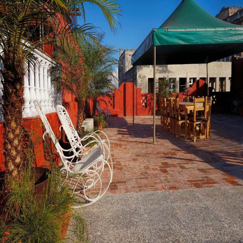 Terrace Hostal Drobles Guesthouse Neptuno