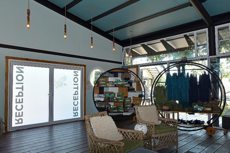 Lobby Zambezi Mubala Lodge