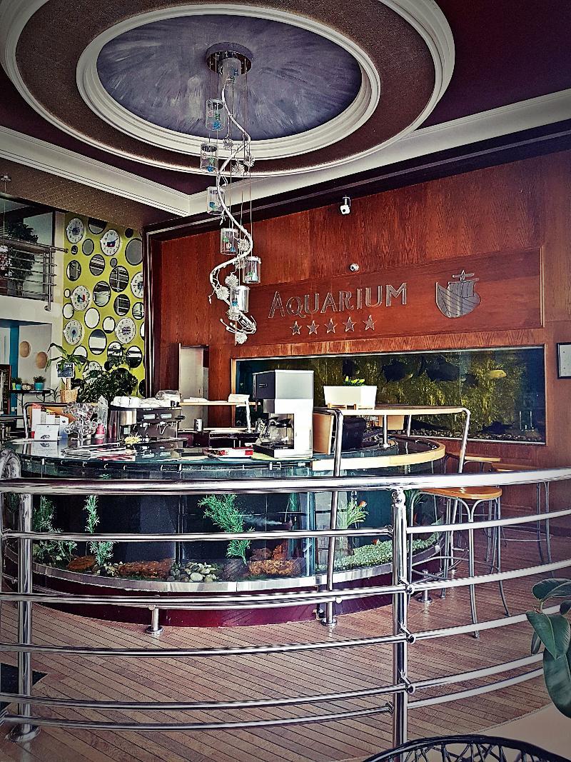Restaurant Aquarium Boutique Hotel