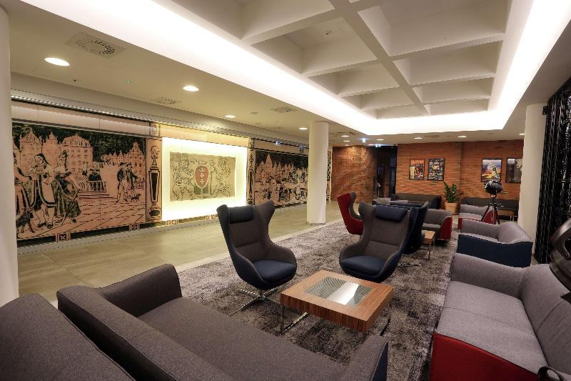 Lobby Hampton By Hilton Gdansk Old Town