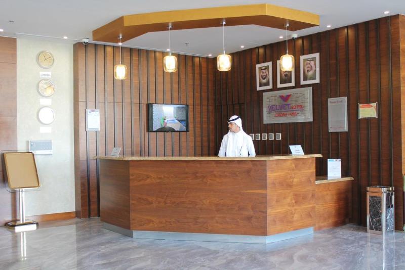 Lobby Velvet Hotel Jeddah