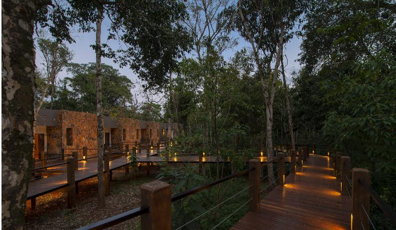 General view Selvaje Lodge Iguazu