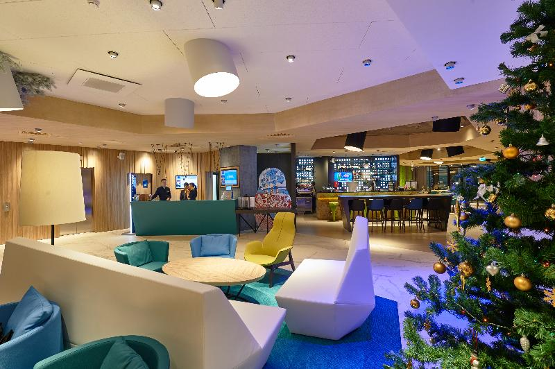 Lobby Novotel Krasnoyarsk Center