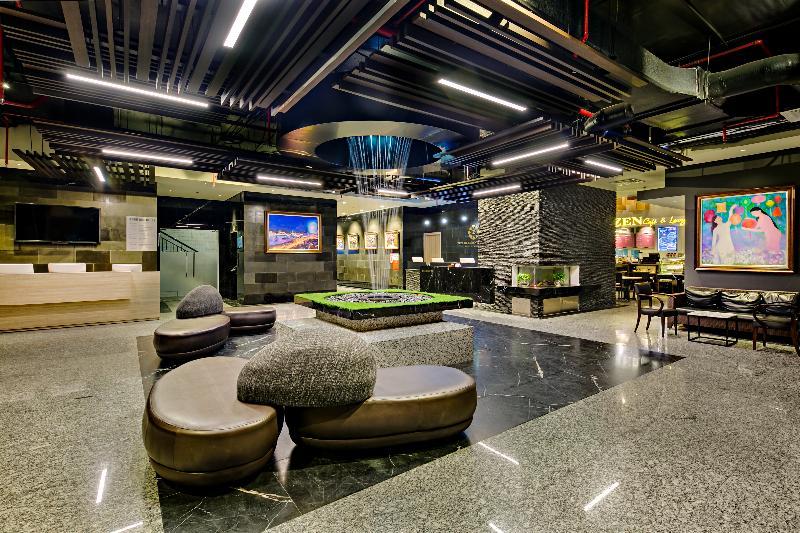 Lobby Zen Diamond Suites Hotel Danang