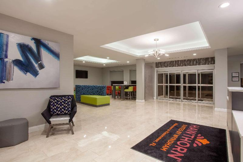 Lobby Hawthorn Suites By Wyndham Kissimmee Gateway