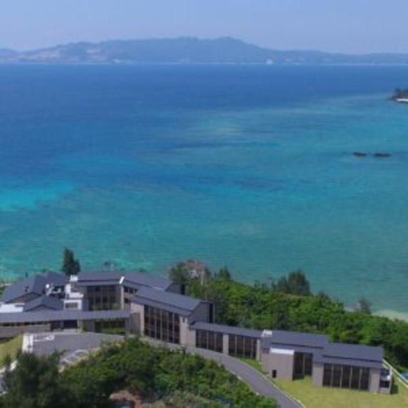 General view Uminoryotei Okinawa Nakamaso