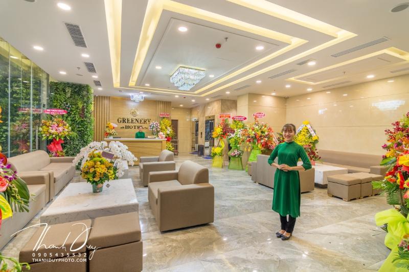 Lobby Greenery Hotel