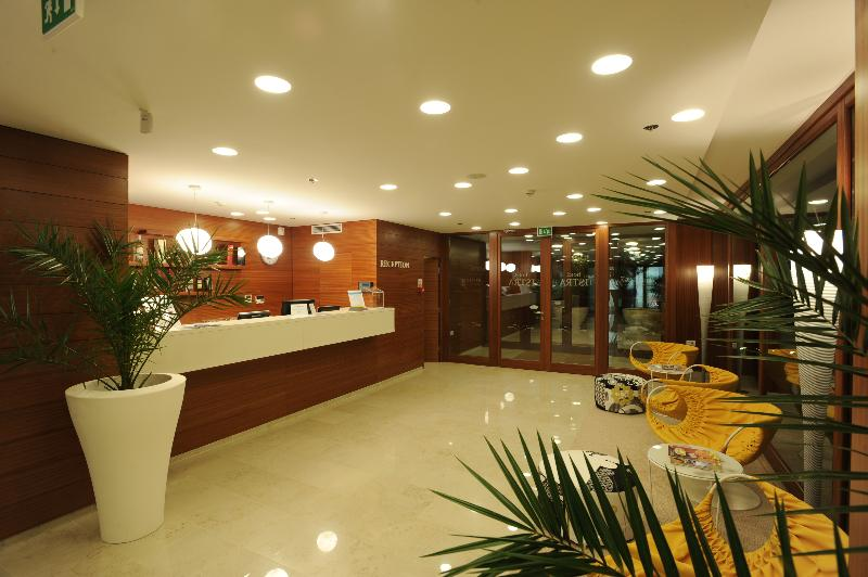 Lobby All Suite Island Hotel Istra