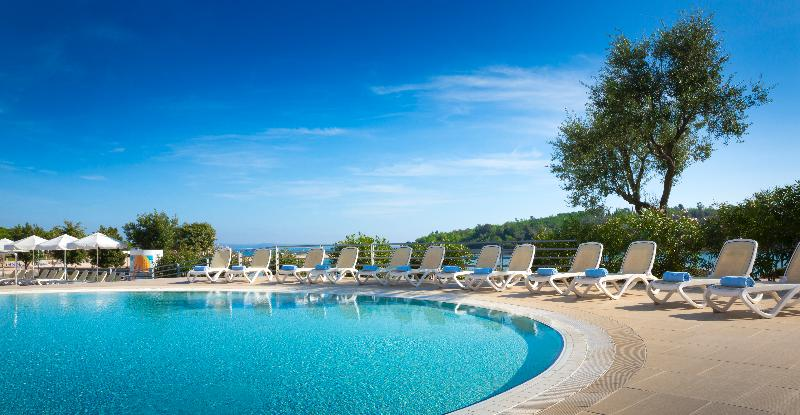 Pool All Suite Island Hotel Istra