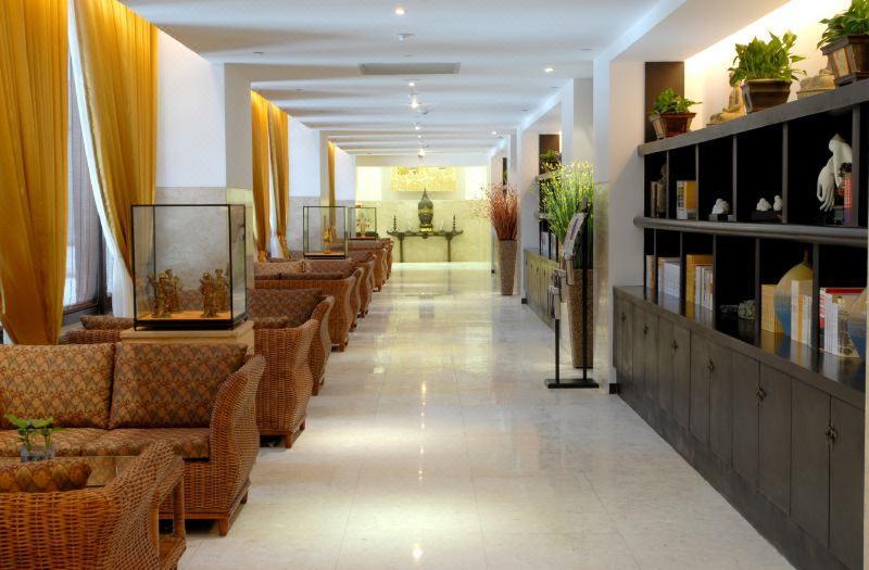 Lobby The Famen Temple Hotel (famensi Foguangge Hotel)