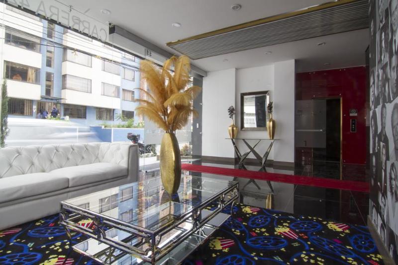 Lobby Apartsuites De Pelicula