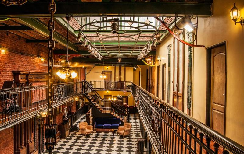 Lobby Del900 Hostel Boutique