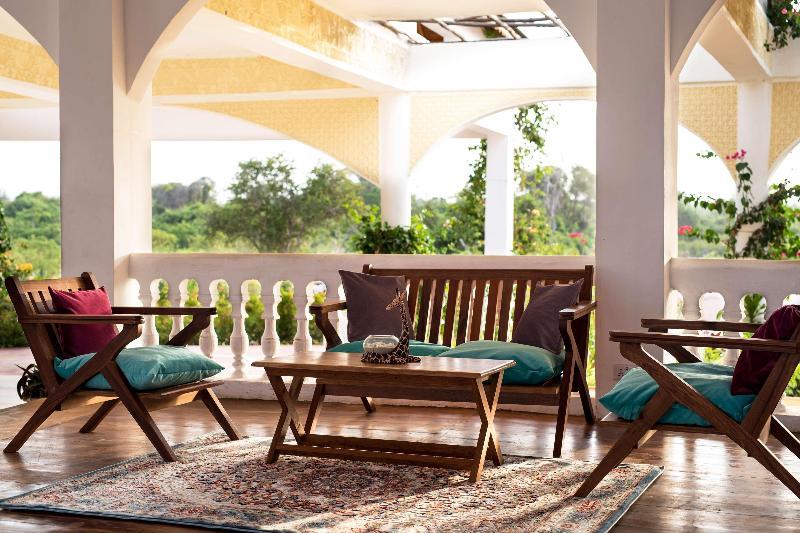 Lobby Moja Tuu The Luxury Villas & Nature Retreat