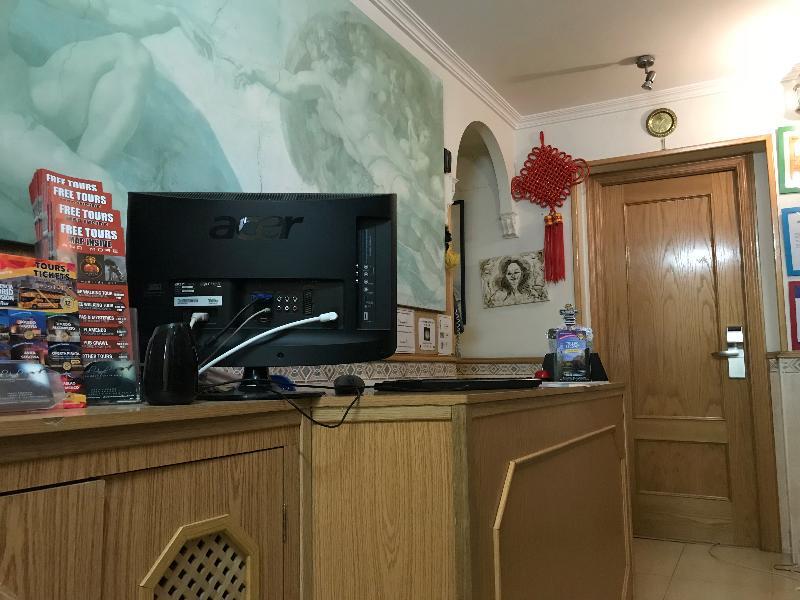 Lobby Hostel Rc Miguel Angel