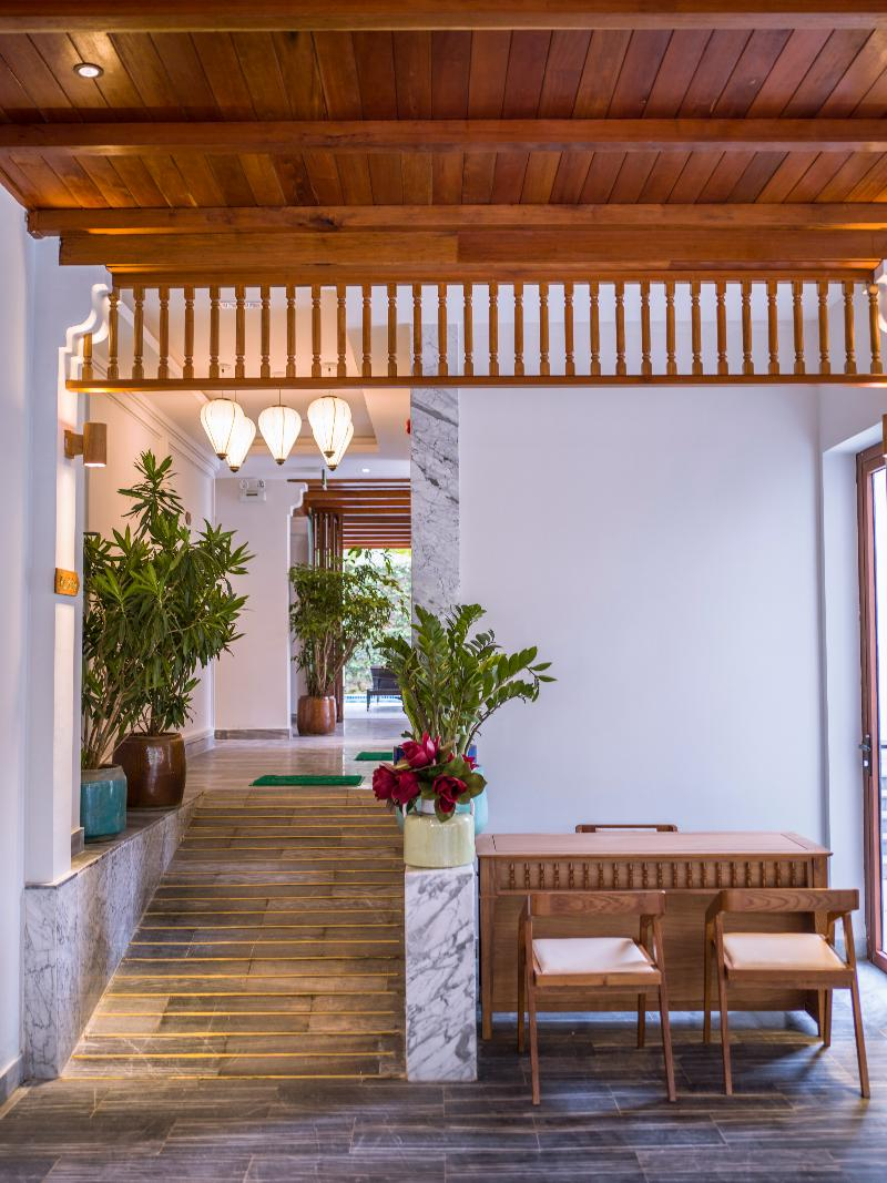 Lobby Vinh Hung Old Town Hotel