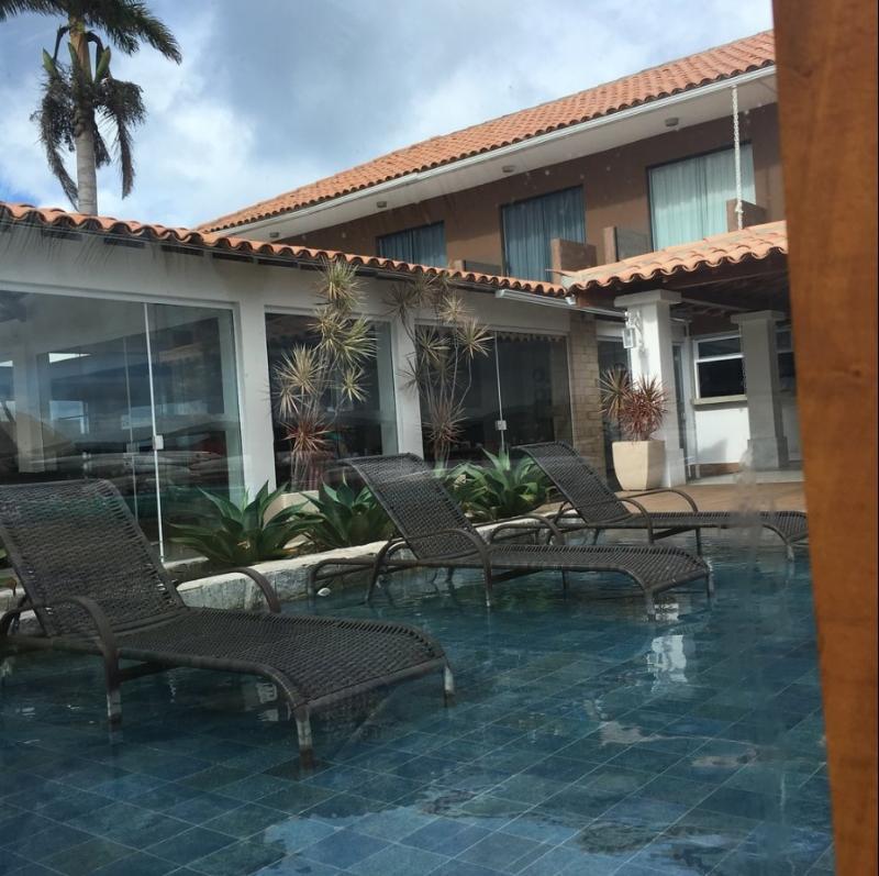 Lobby Hotel Premium Recanto Da Passagem