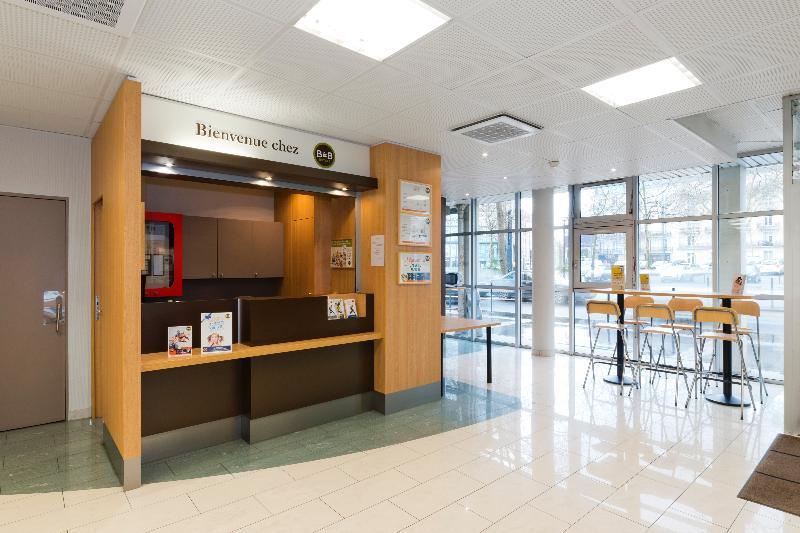 Lobby B&b Hôtel Nantes Centre