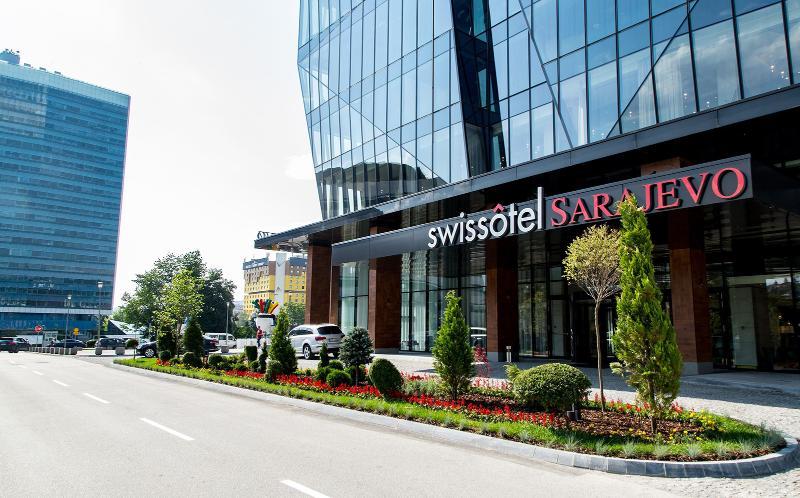 General view Swissotel Sarajevo