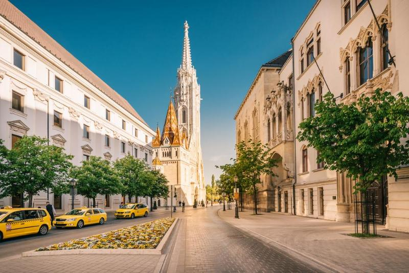 General view Apartments By Pest-buda