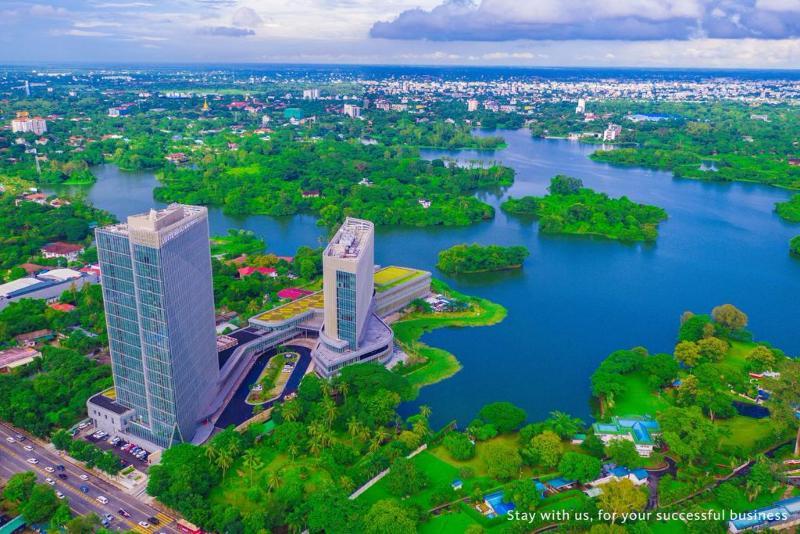 General view Lotte Hotel Yangon