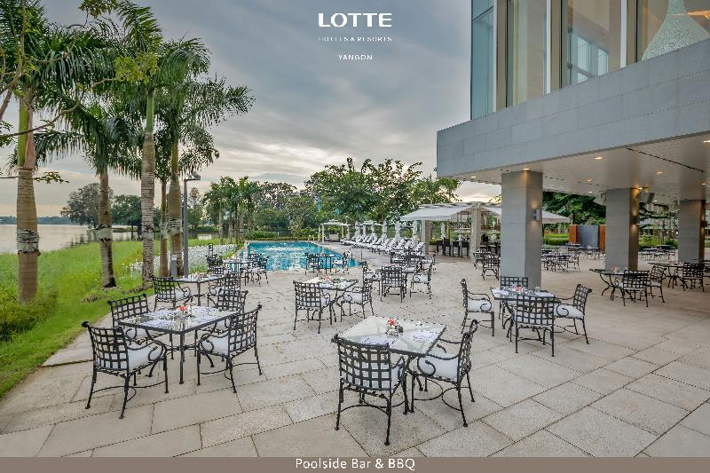 Bar Lotte Hotel Yangon