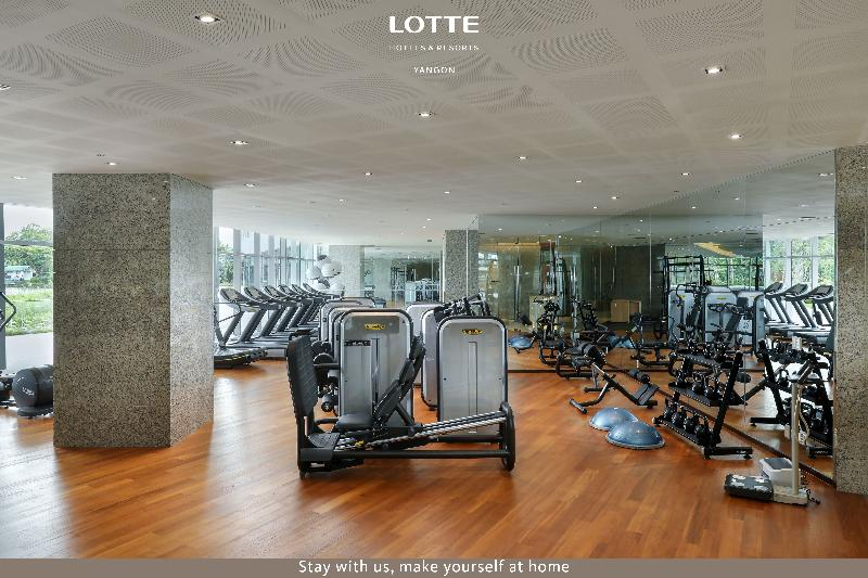 Sports and Entertainment Lotte Hotel Yangon