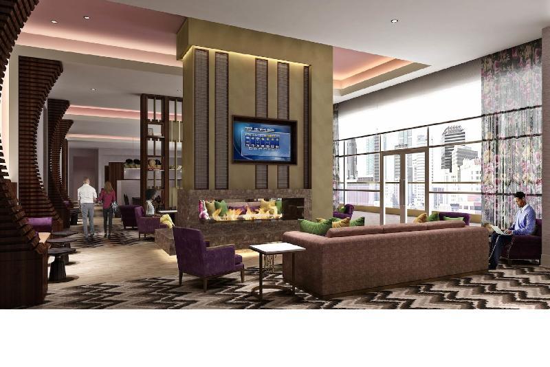 Lobby Residence Inn Nashville Downtown