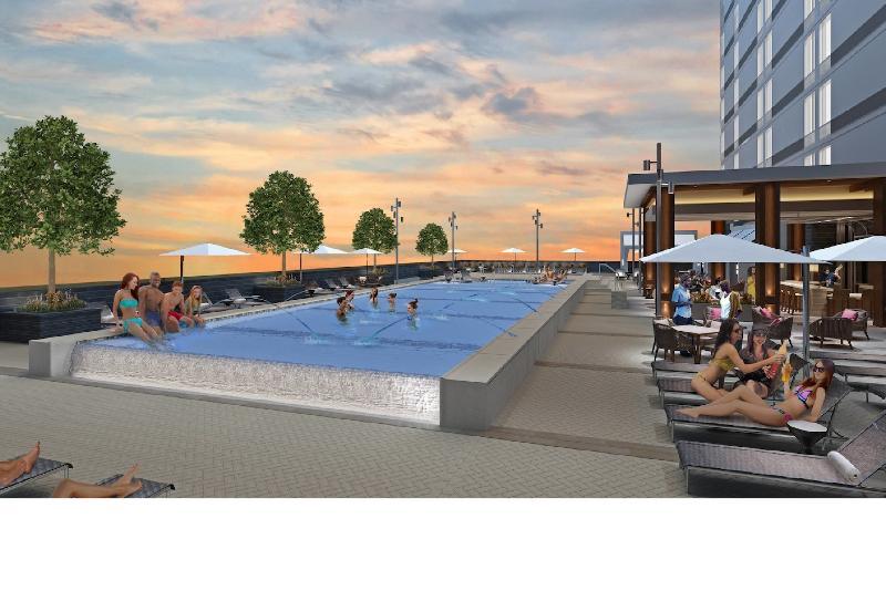 Pool Residence Inn Nashville Downtown