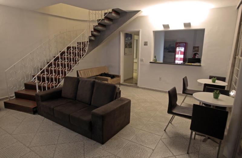 Lobby Hangar Rio Hostel