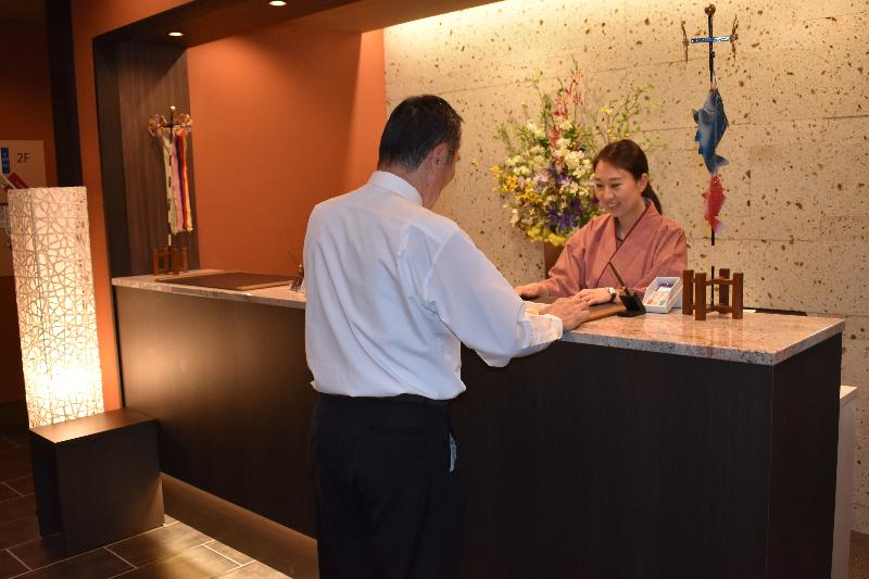 Lobby Tabino Hotel Hidatakayama