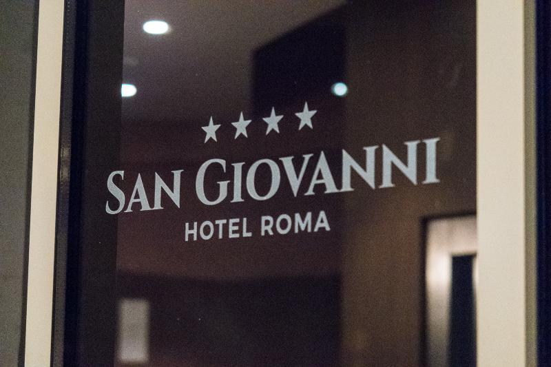 Lobby Hotel San Giovanni Roma