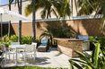Terrace Courtyard Miami Aventura Mall