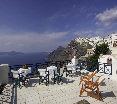 Terrace Santorini Reflexions Volcano