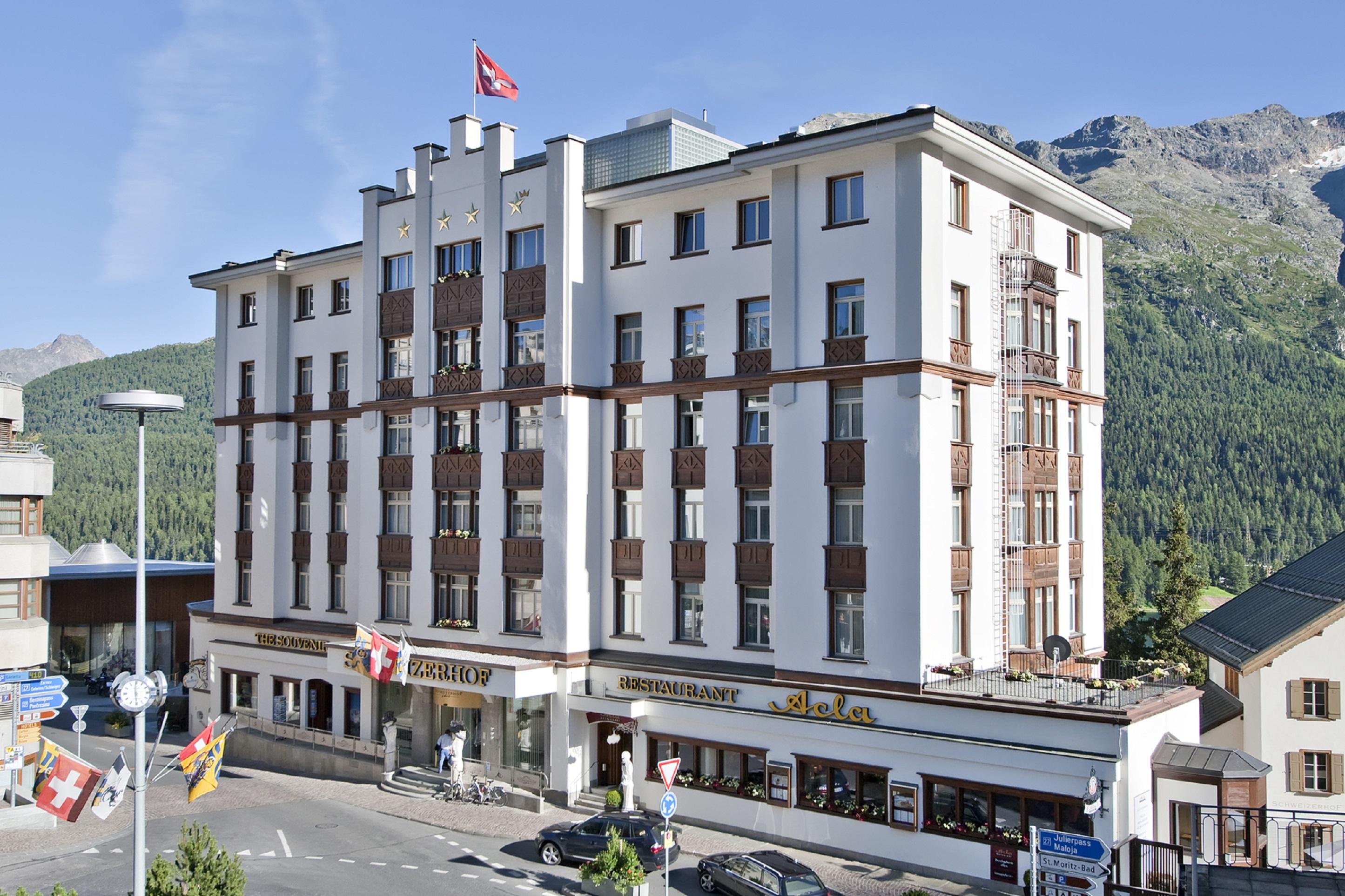 Schweizerhof Swiss Quality Hotel St Moritz, Maloja