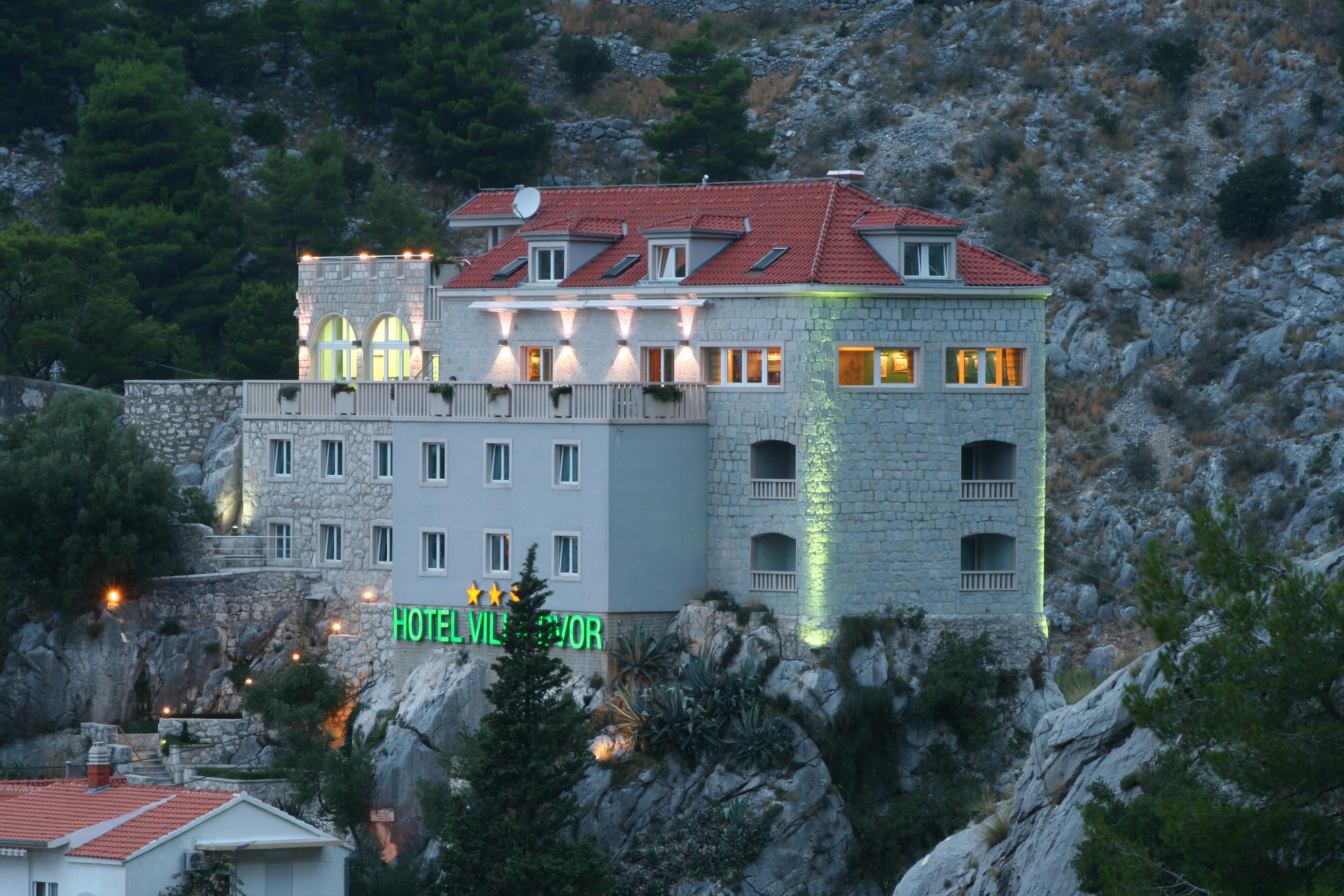 Hotel Villa Dvor, Omiš