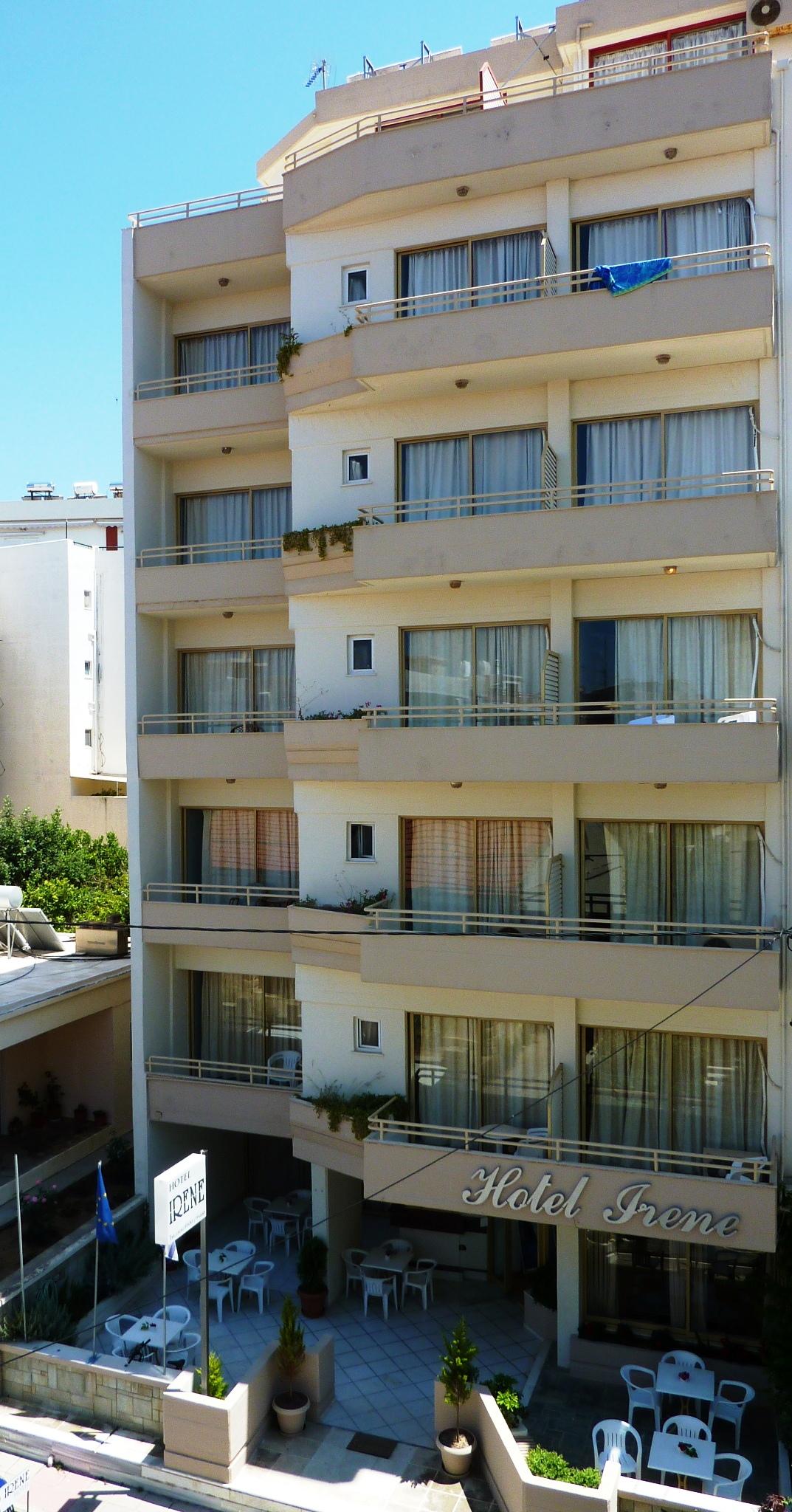 Irene, Crete