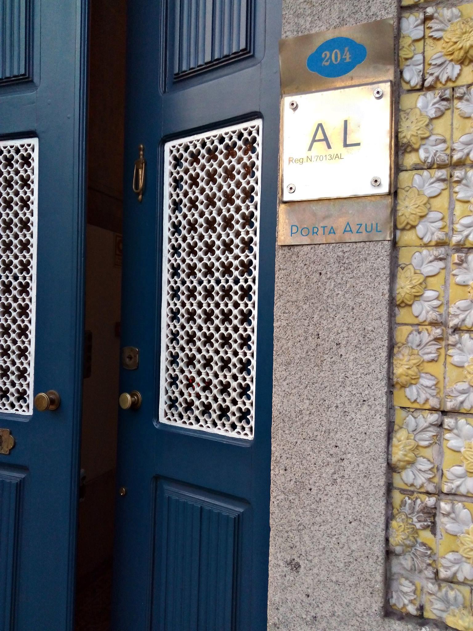 Porta Azul, Porto